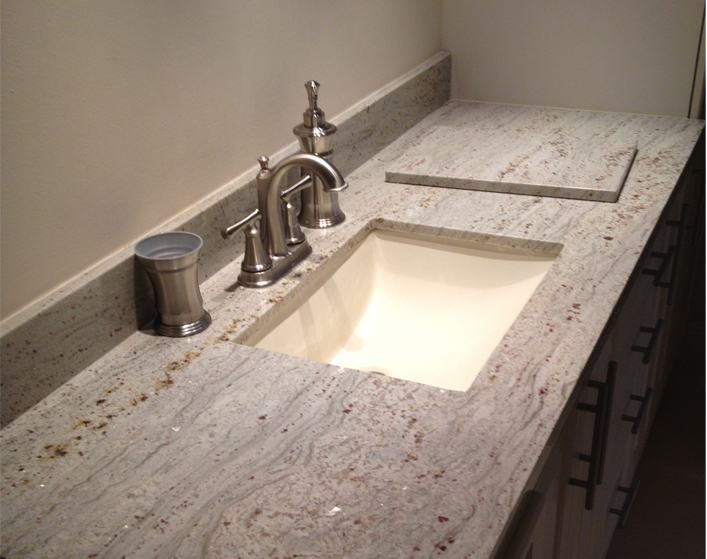 granite bathroom countertops best granite for less